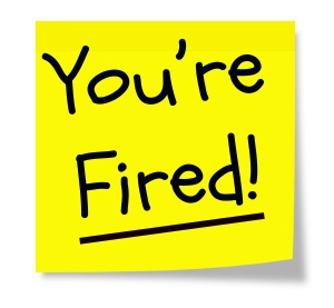 "Picture of ""you're fired"""