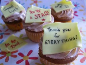 picture of goodbye cupcakes